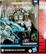 Transformers Studio Series 73 Grindor and Ravage (RotF)