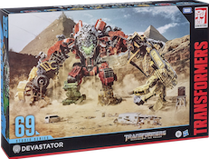 Transformers Studio Series 69 Devastator w/ Scrapper, Demolisher, Mixmaster, Hightower, Scrapmetal, Overload, Longhaul, Skipjack