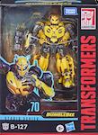 Transformers Studio Series 70 Bumblebee (movie) B-127 (Cybertronian alt mode)